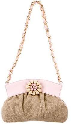 Ungaro Leather-Trim Mini Bag