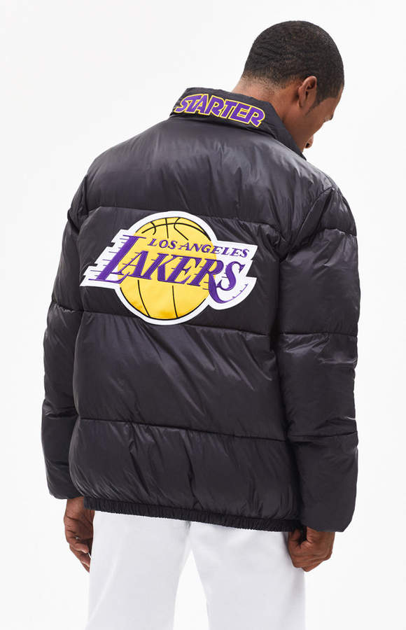 Starter Los Angeles Lakers Puffer Jacket