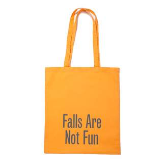 Plinth - Falls Are Not Fun Tote Bag