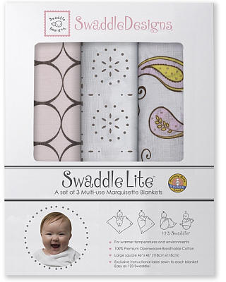 Swaddle Designs Modern Swaddle Lite - Pastel Pink