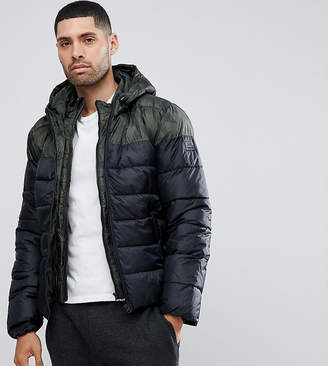 Blend of America Quilted Jacket Multi Panel