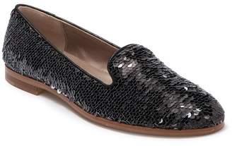 Attilio Giusti Leombruni Leather Sequined Loafer