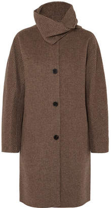 Vanessa Bruno John Checked Wool And Cashmere-blend Coat - Gray
