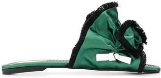 Carven fringed sandals
