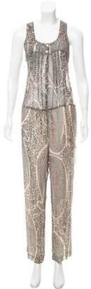 Etoile Isabel Marant Silk Floral Jumpsuit