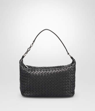 Bottega Veneta NERO INTRECCIATO NAPPA SMALL SHOULDER BAG