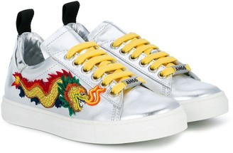 Dragon Optical Am66 embroidered sneakers