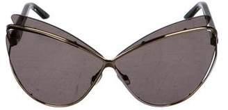 Christian Dior Audacieusel Cat-Eye Sunglasses