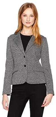 Jones New York Women's Quilted Blazer