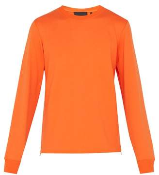 Helmut Lang Cotton Sweatshirt - Mens - Orange
