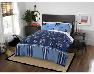 MLB Kansas City Royals Queen Bed In Bag Set