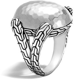 Women's John Hardy Classic Chain Dome Ring $550 thestylecure.com