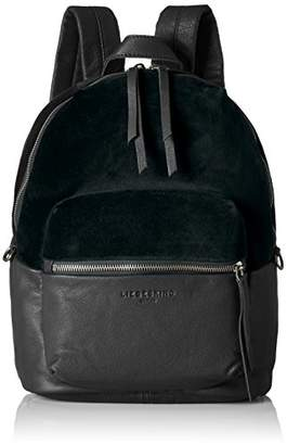 Liebeskind Berlin Women's Stanfordw7 Velvet and Leather Backpack