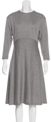Akris Punto Wool Midi Dress w/ Tags