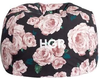 Pottery Barn Teen The Emily & Meritt Bed of Roses Beanbag Slipcover, Large