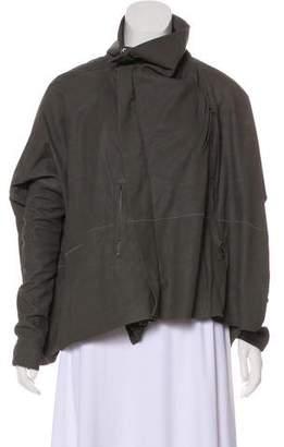 Rick Owens Long Sleeve Zip-Up Jacket