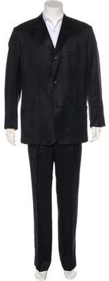Gianni Versace Silk Two-Piece Suit