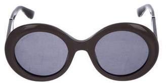 Jimmy Choo Round Tinted Sunglasses