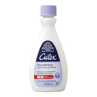 Cutex Nail Polish Remover Nourishing 100 mL