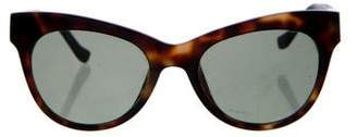 The Row Tortoiseshell Tinted Sunglasses