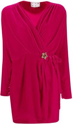 In The Mood For Love Mary Jane wrap dress