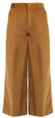 Elizabeth and James Oakley Corduroy Trousers - Womens - Camel