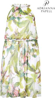 Next Womens Adrianna Papell Plus Tahitian Flare Dress