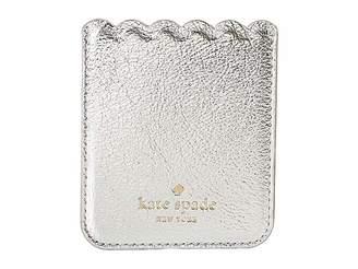 Kate Spade Metallic Scallop Sticker Pocket