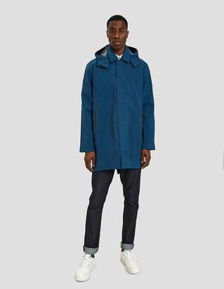 Norse Projects Trondheim GORE-TEX Jacket in Aluminum Petrol