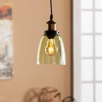 Savini Colored Glass Mini Pendant Lamp