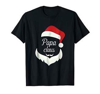 Santa Beard Shirt Matching Christmas Pajamas Papa Claus Tee