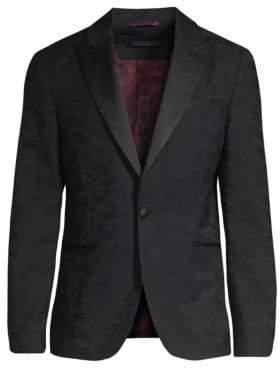John Varvatos Jacquard Suit Jacket
