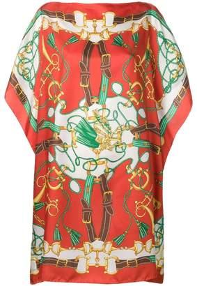 P.A.R.O.S.H. Saucy printed silk dress