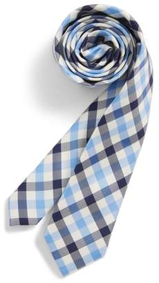 Nordstrom Window Plaid Silk Tie