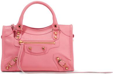 Balenciaga Balenciaga - Classic City Mini Textured-leather Tote - Pink