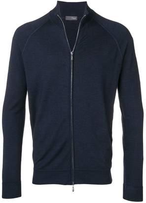 Drumohr knit zipped cardigan