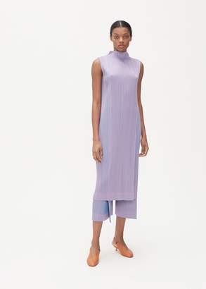 Pleats Please Issey Miyake Sleeveless Double Face Dress