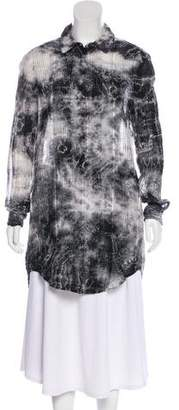 Raquel Allegra Tie-Dye Tunic Top