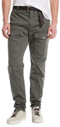 Brunello Cucinelli Leisure-Fit Parachute Cargo Pants