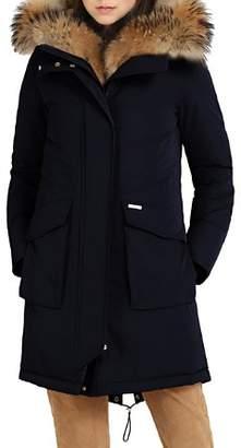 Woolrich Military Fur Trim Parka