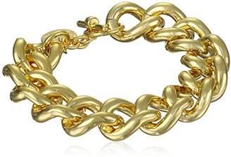 Unoaerre 1AR by 18k -Plated Groumette Chain Link Bracelet