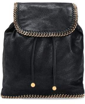 Stella McCartney Falabella Brushed Faux Leather Backpack