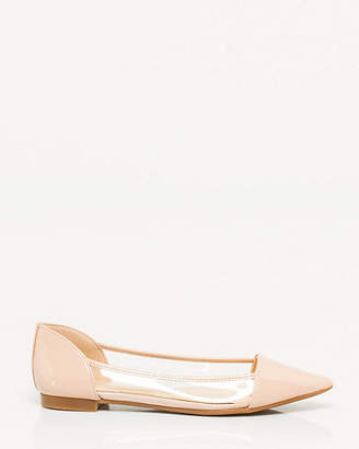 Le Château Patent Leather Pointy Toe Flat
