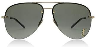 Saint Laurent Sunglasses CLASSIC 11 M M 11 003 GOLD/GREEN / GOLD