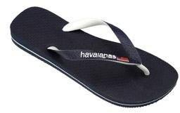 Havaianas Top Logo USA Rubber Flip Flops
