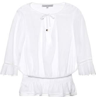 Heidi Klein Seychelles cotton top
