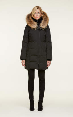 Soia & Kyo SALMA slim-fit mid-length classic down coat