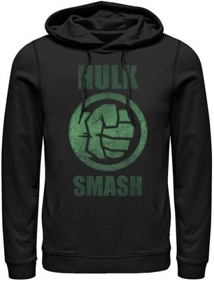 Smash Wear Licensed Character Men's Marvel's Hulk Logo Hoodie