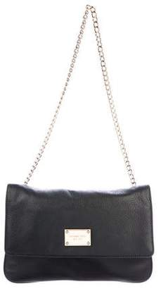 MICHAEL Michael Kors Grained Leather Chain-Link Shoulder Bag