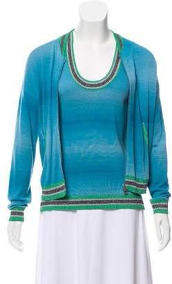 Zadig & Voltaire Knit Cardigan Set